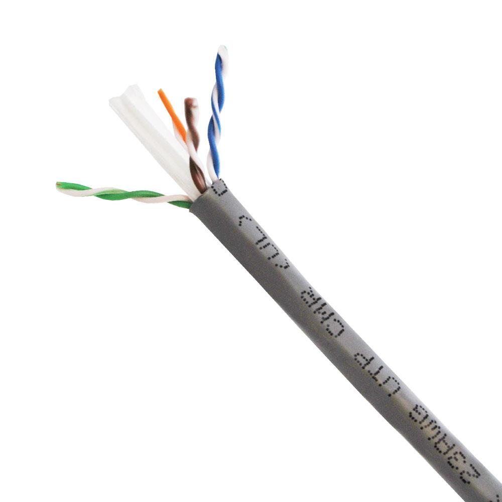 Cable Utp Cat 6 Cmr 305m Azul Kroton